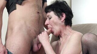Nagymama ingyen pornó